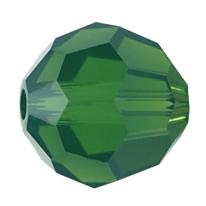 5000 - 3mm Swarovski Round Crystal - Palace Green Opal