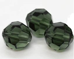 5000 - 6mm Swarovski Round Crystal - Turmaline
