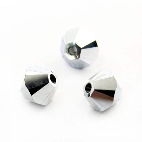 5301/5328 - 6mm Swarovski Bicone Crystal Bead - Crystal Cal 2X