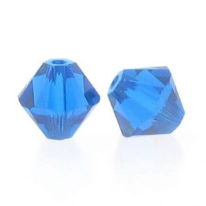5301/5328 - 3mm Swarovski Bicone Crystal Bead - Capri Blue