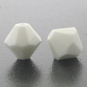 5301/5328 - 3mm Swarovski Bicone Crystal Bead - Chalk White