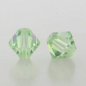 5301/5328 - 3mm Swarovski Bicone Crystal Bead - Chrysolite AB