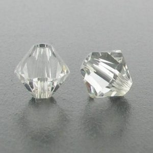 5301/5328 - 3mm Swarovski Bicone Crystal Bead - Crystal