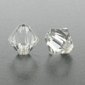 5301/5328 - 3mm Swarovski Bicone Crystal Bead - Crystal