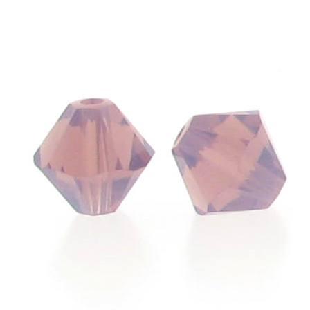 5301/5328 - 3mm Swarovski Bicone Crystal Bead - Cyclamen Opal