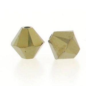 5301/5328 - 6mm Swarovski Bicone Crystal Bead - Dorado 2X