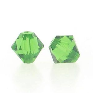 5301/5328 - 3mm Swarovski Bicone Crystal Bead - Fern Green