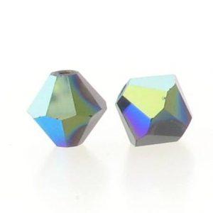 5301/5328 - 5mm Swarovski Bicone Crystal Bead - Garnet AB