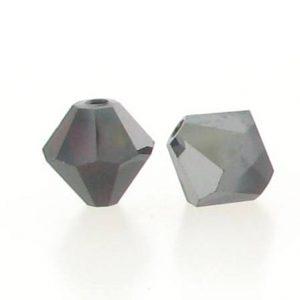 5301/5328 - 3mm Swarovski Bicone Crystal Bead - Garnet Satin