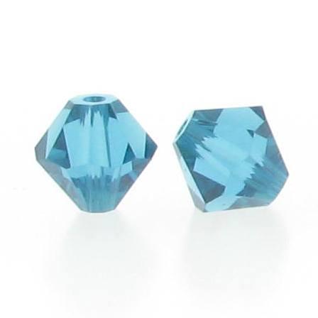 5301/5328 - 3mm Swarovski Bicone Crystal Bead - Indicolite