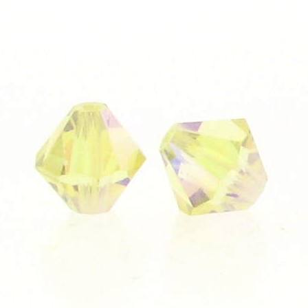 5301/5328 - 3mm Swarovski Bicone Crystal Bead - Jonquil AB2X