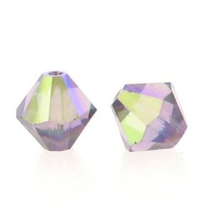 5301/5328 - 6mm Swarovski Bicone Crystal Bead - Lilac AB