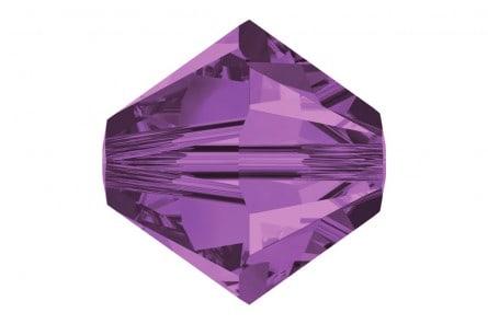 5301/5328 - 3mm Swarovski Bicone Crystal Bead - Lilac