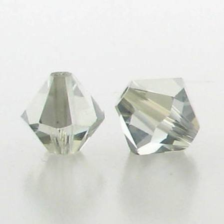 5301/5328 - 3mm Swarovski Bicone Crystal Bead - Light Azore Satin