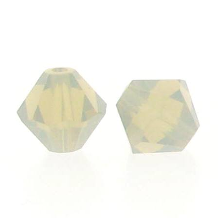 5301/5328 - 3mm Swarovski Bicone Crystal Bead - Light Grey Opal