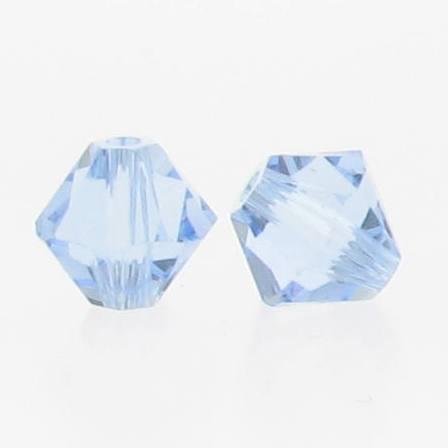 5301/5328 - 3mm Swarovski Bicone Crystal Bead - Light Sapphire