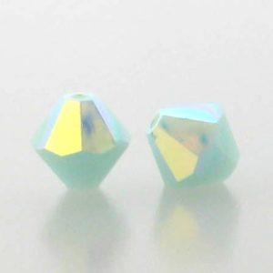 5301/5328 - 3mm Swarovski Bicone Crystal Bead - Min Alabaster AB