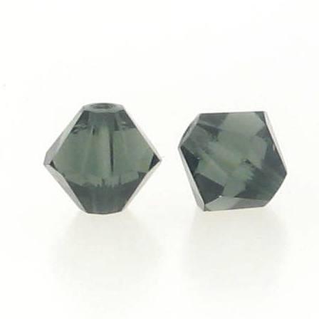 5301/5328 - 3mm Swarovski Bicone Crystal Bead - Morion