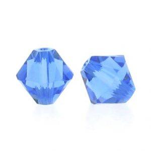5301/5328 - 3mm Swarovski Bicone Crystal Bead - Sapphire