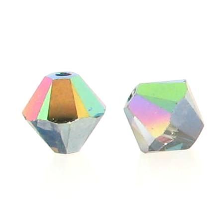5301/5328 - 3mm Swarovski Bicone Crystal Bead - Vitrail Medium