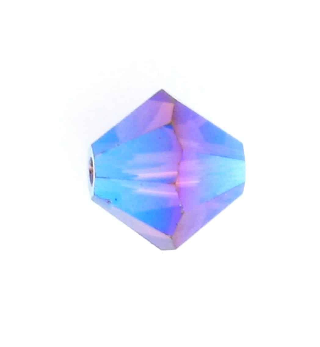 Swarovski 5301 4mm Violet Opal Bicone 12 Pcs, 144 Pcs, 1440 Pcs