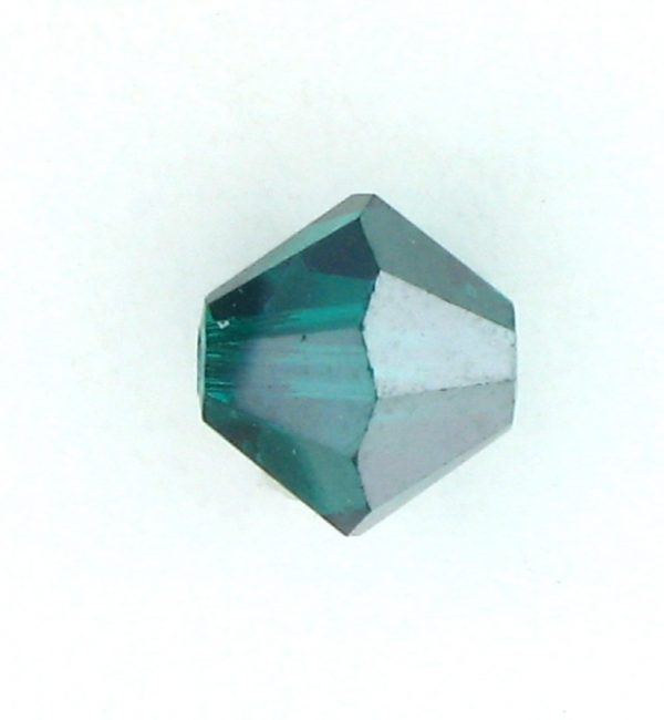 5301/5328 - 4mm Swarovski Bicone Bead - Emerald Satin