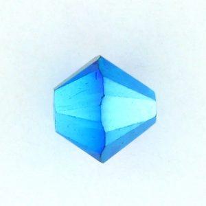5301/5328 - 3mm Swarovski Bicone Crystal Bead - Emerald AB2X