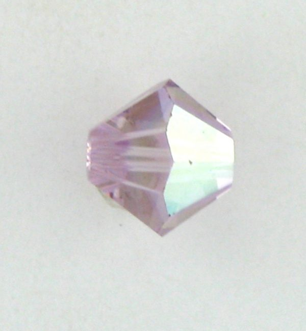5301/5328 - 4mm Swarovski Bicone Bead - Light Amethyst AB