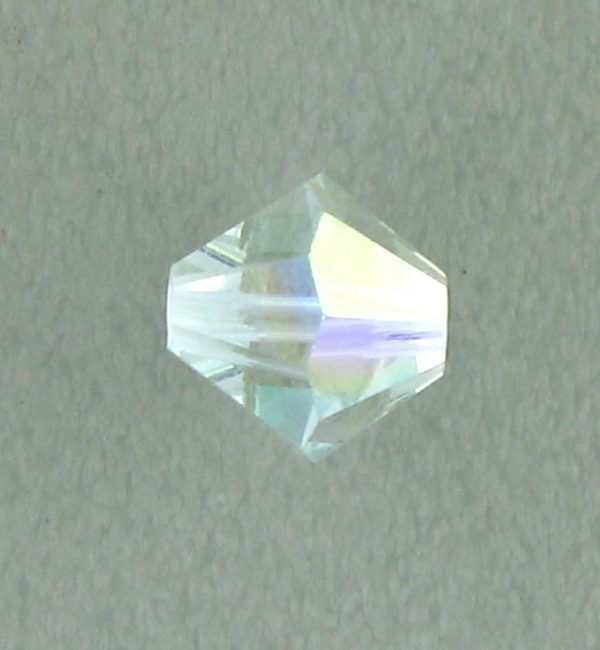 5301/5328 - 6mm Swarovski Bicone Crystal Bead - Light Azore AB