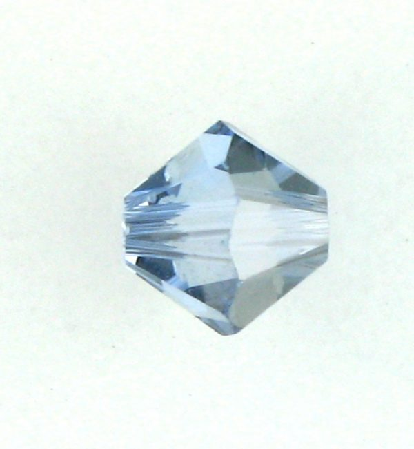 5301/5328 - 4mm Swarovski Bicone Bead - Light Sapphire Satin