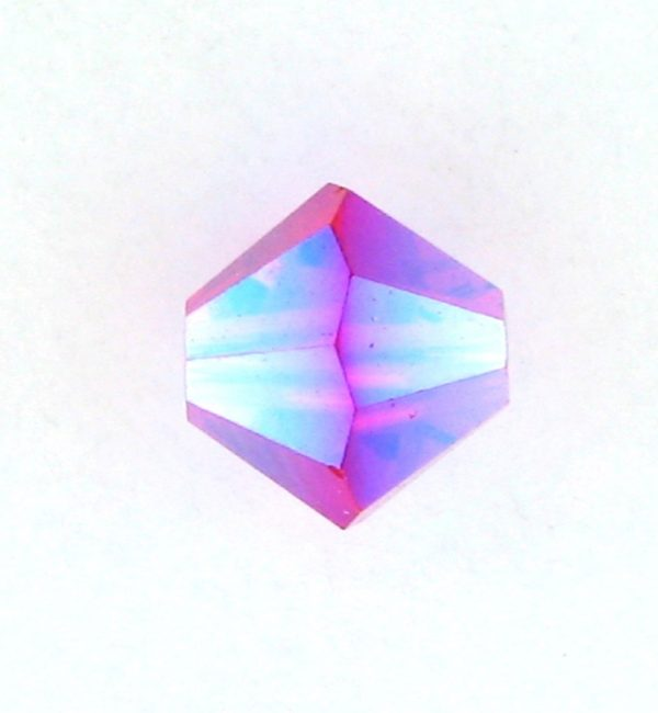5301/5328 - 4mm Swarovski Bicone Bead - Light Siam AB2X
