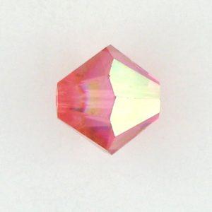 5301/5328 - 5mm Swarovski Bicone Crystal Bead - Padpardascha AB