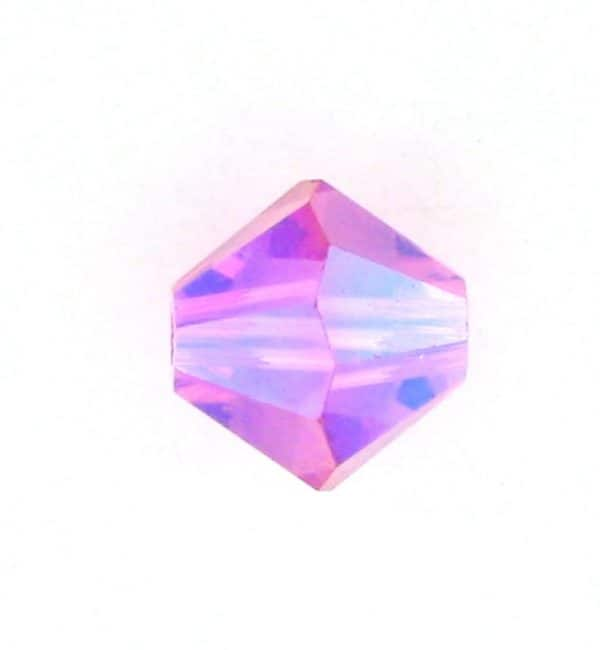 5301/5328 - 4mm Swarovski Bicone Bead - Rose AB2X