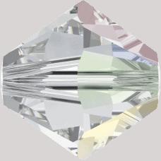 5301/5328 - 5mm Swarovski Bicone Crystal Bead - Crystal AB
