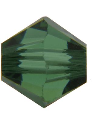 5301/5328 - 3mm Swarovski Bicone Crystal Bead - Green Turmaline