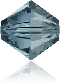 5301/5328 - 5mm Swarovski Bicone Crystal Bead - Indian Sapphire