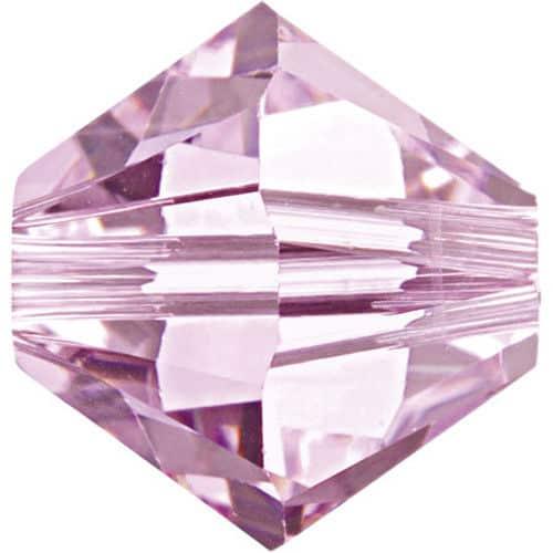 5301/5328 - 5mm Swarovski Bicone Crystal Bead - Rosaline