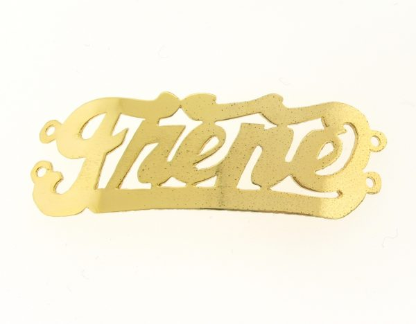 # 9783 - 14K Gold Filled Name Plate For Bracelet - Jhene