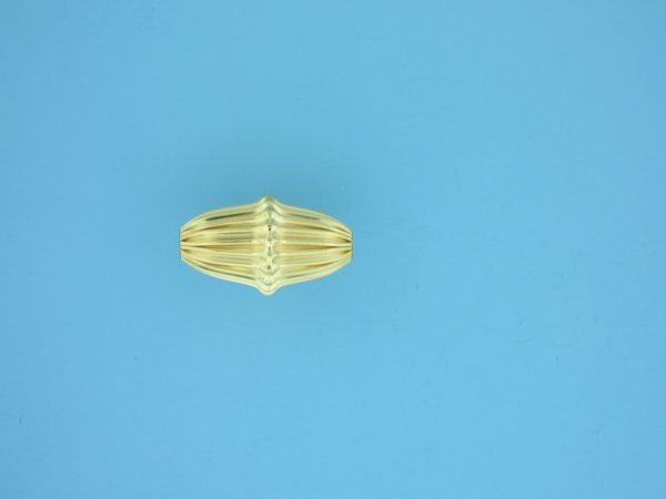 1166 - 10x18mm Gold Filled Fancy Bead