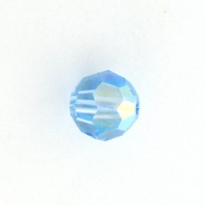 5000 - 4mm Swarovski Round Crystal - Aquamarine AB