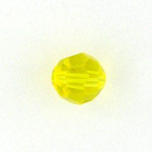 5000 - 4mm Swarovski Round Crystal - Citrine
