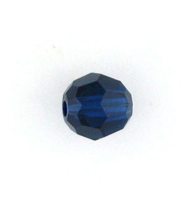5000 - 4mm Swarovski Round Crystal - Dark Indigo