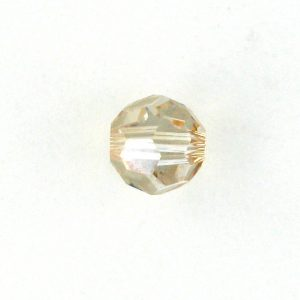 5000 - 4mm Swarovski Round Crystal - Golden Shadow