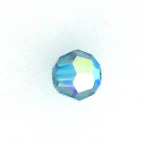 5000 - 4mm Swarovski Round Crystal - Indicolite AB