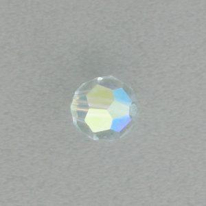 5000 - 4mm Swarovski Round Crystal - Light Azore AB
