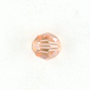 5000 - 4mm Swarovski Round Crystal - Light Peach