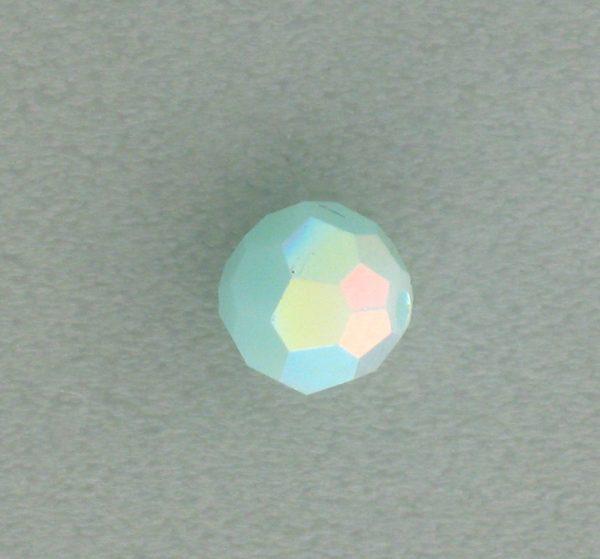 5000 - 4mm Swarovski Round Crystal - Mint Alabaster AB