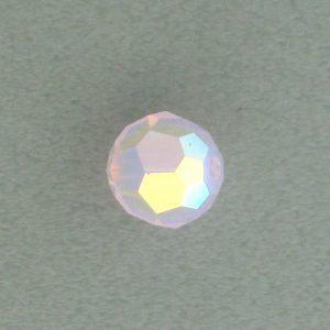5000 - 4mm Swarovski Round Crystal - Rose Water Opal AB