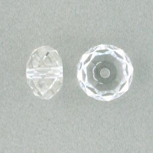 5040 - 6mm Swarovski Briolette Beads - Crystal