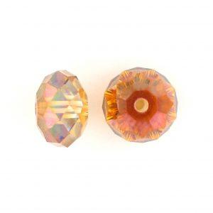 5040 - 6mm Swarovski Briolette Beads - Crystal Copper